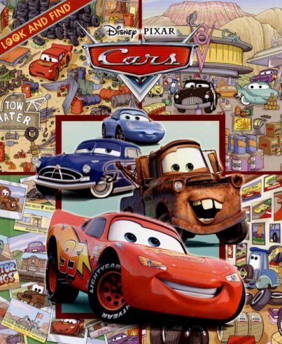 Cars (Look and Find): Burroughs, Caleb