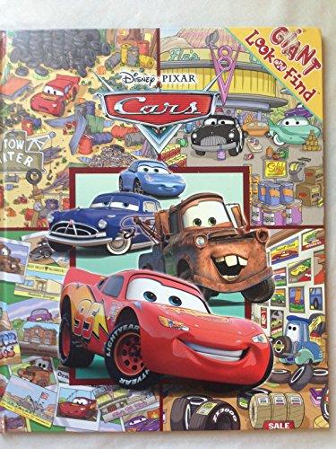 Giant Look & Find Cars: Caleb Burroughs