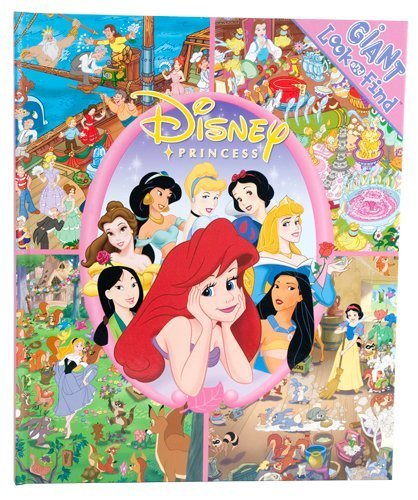 Giant Look & Find Disney Princess