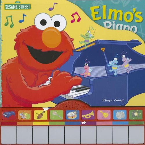 9781412789950: Sesame Street Song Book: Elmo's Piano (1 2 3 Sesame Street)