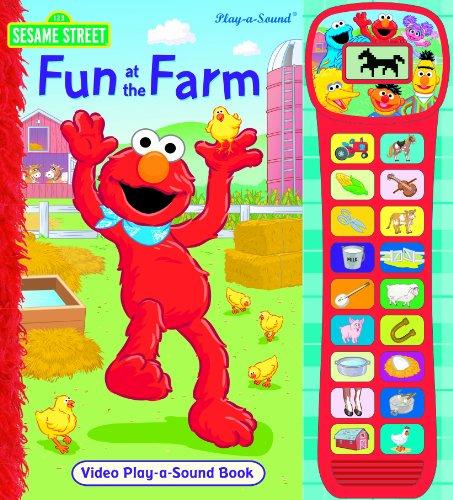 9781412792110: Sesame Street Video Sound Book: Fun at the Farm