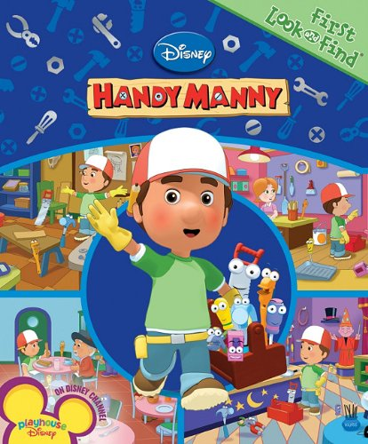 Disney Handy Manny (First Look and Find): Lobo, Julia