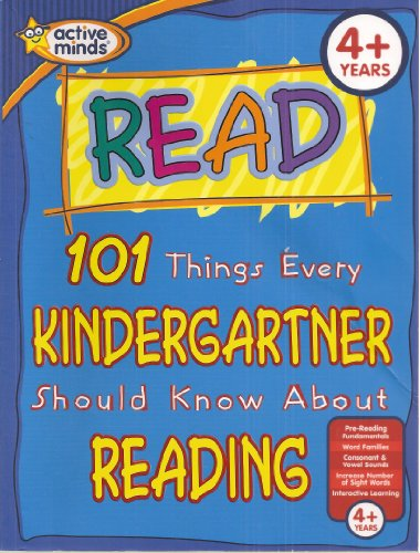 9781412794596: Read: 101 Things Every Kindergartner Should Know About Reading (Active Minds)