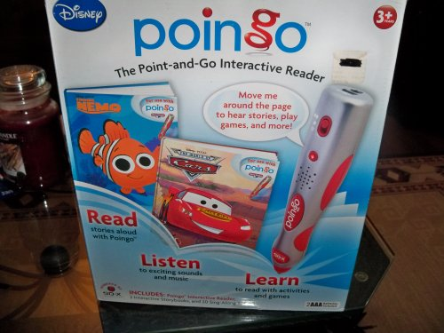 9781412794756: Poingo Interactive Reader with Cars and Finding Nemo Storybooks