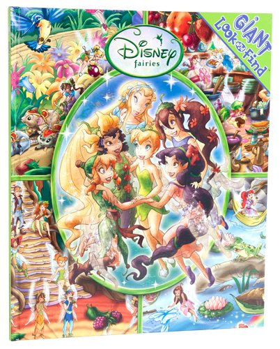 9781412795692: Giant Look and Find: Disney Fairies