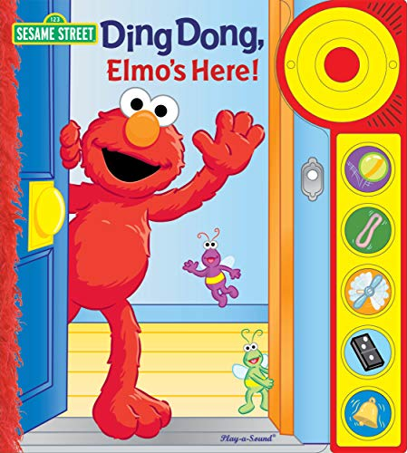 9781412796132: Ding Dong, Elmo's Here! (Play-a-sound: Sesame Street)