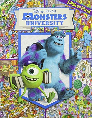 9781412796491: Disney Pixar: Monsters University: Look and Find