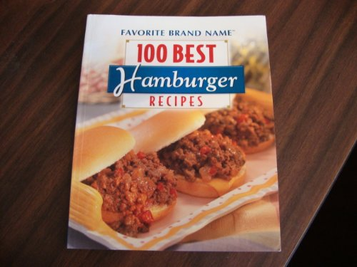 9781412796552: 100 Best Hamburger Recipes