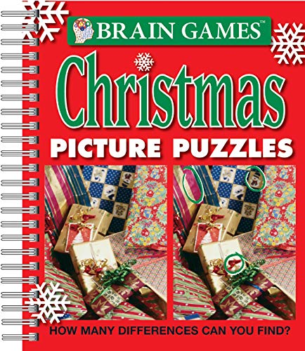 9781412798082: Brain Games® Christmas Picture Puzzles: How Many Differences Can You Find?