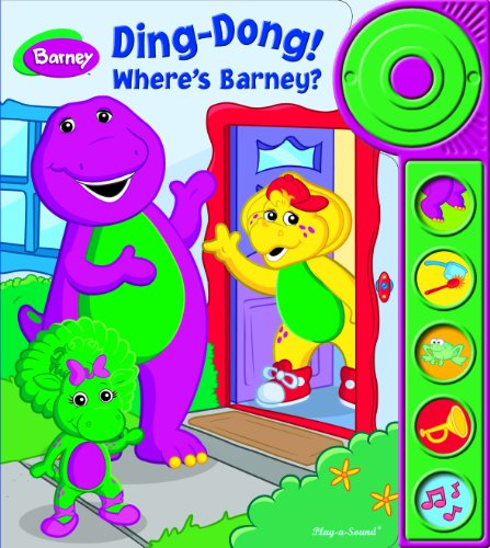 9781412799133: Ding-Dong! Where s Barney? Play-a-Sound Book