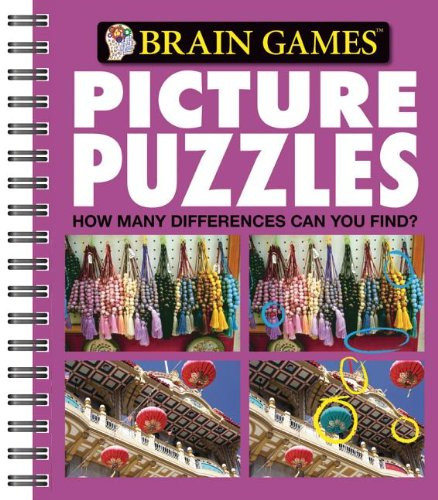 9781412799652: Brain Games Picture Puzzles #3: How Many Differences Can You Find?