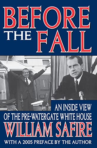 9781412804660: Before the Fall: An Inside View of the Pre-Watergate White House