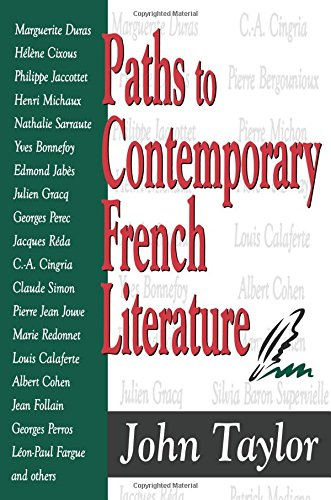 9781412804790: Paths to Contemporary French Literature, Vol. 1