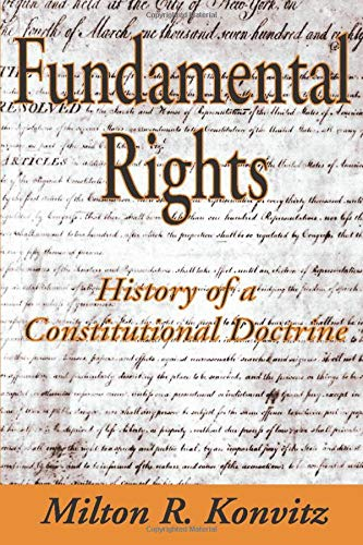 9781412806473: Fundamental Rights: History of a Constitutional Doctrine