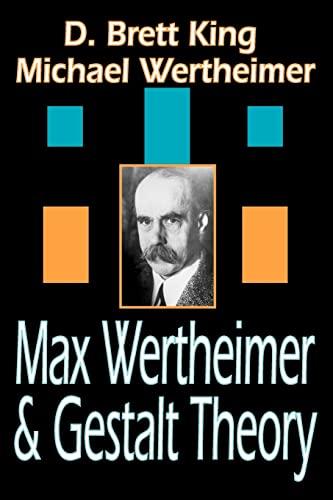 9781412807180: Max Wertheimer and Gestalt Theory