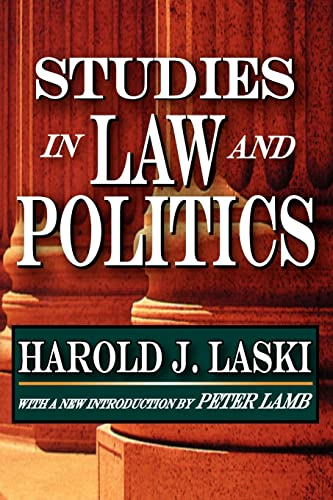 9781412810692: Studies in Law and Politics