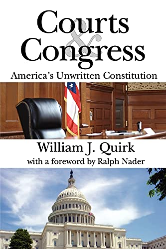 9781412811446: Courts and Congress: America's Unwritten Constitution