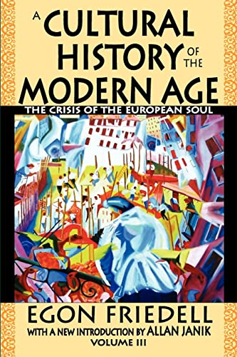 9781412811712: A Cultural History of the Modern Age: The Crisis of the European Soul