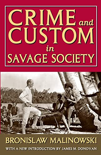 9781412849784: Crime and Custom in Savage Society