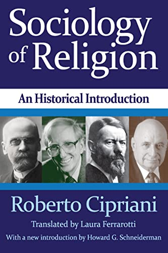 9781412854672: Sociology of Religion: An Historical Introduction