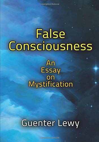 9781412864114: False Consciousness: An Essay on Mystification
