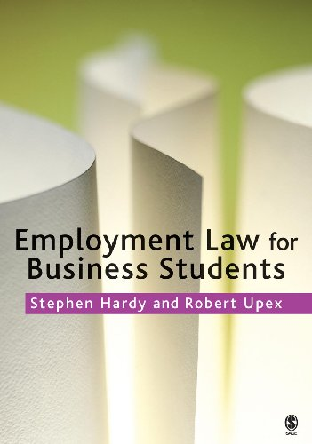 9781412900225: Employment Law for Business Students