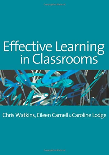 9781412900706: Effective Learning in Classrooms