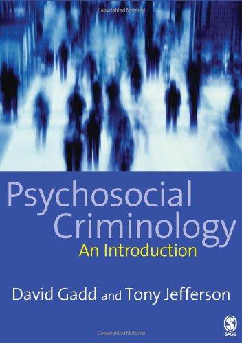 9781412900782: Psychosocial Criminology