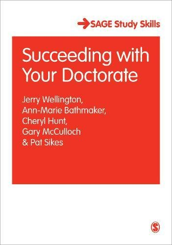 9781412901154: Succeeding with Your Doctorate (SAGE Study Skills Series)
