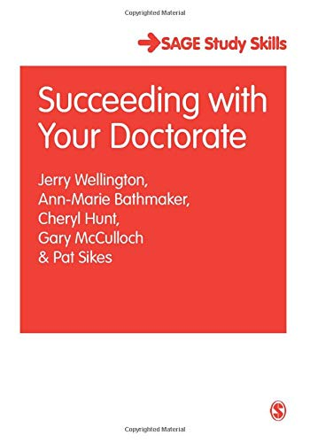9781412901161: Succeeding with Your Doctorate (SAGE Study Skills Series)