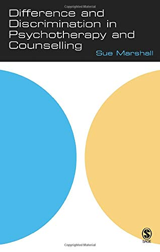 9781412901185: Difference and Discrimination in Psychotherapy and Counselling (The School of Psychotherapy & Counselling)