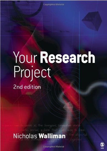 9781412901314: Your Research Project: A Step-by-Step Guide for the First-Time Researcher (Sage Study Skills Series)