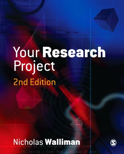 9781412901321: Your Research Project: A Step-by-Step Guide for the First-Time Researcher (Sage Study Skills Series)