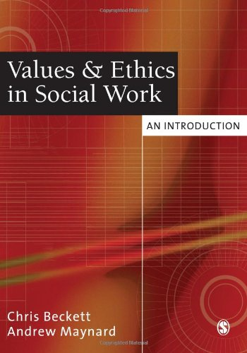 9781412901390: Values and Ethics in Social Work: An Introduction