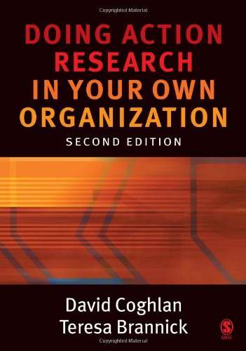9781412902472: Doing Action Research in Your Own Organization