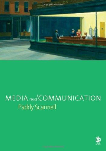 9781412902687: Media and Communication