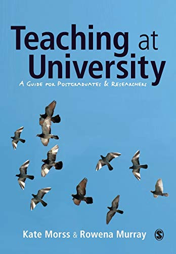 9781412902977: Teaching at University: A Guide for Postgraduates and Researchers (SAGE Study Skills Series)