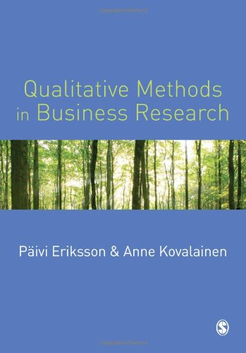 9781412903165: Qualitative Methods in Business Research (Introducing Qualitative Methods series)