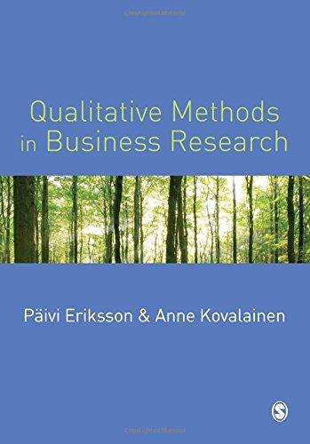 9781412903172: Qualitative Methods in Business Research (Introducing Qualitative Methods series)