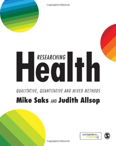 9781412903639: Researching Health: Qualitative, Quantitative and Mixed Methods
