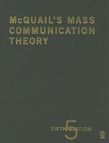 9781412903714: McQuail's Mass Communication Theory