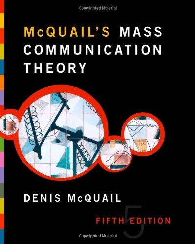 9781412903721: McQuail's Mass Communication Theory