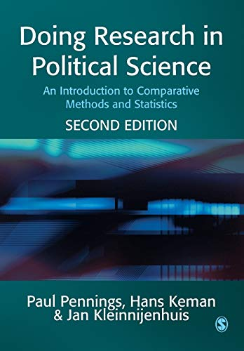 9781412903776: Doing Research in Political Science: An Introduction to Comparative Methods and Statistics