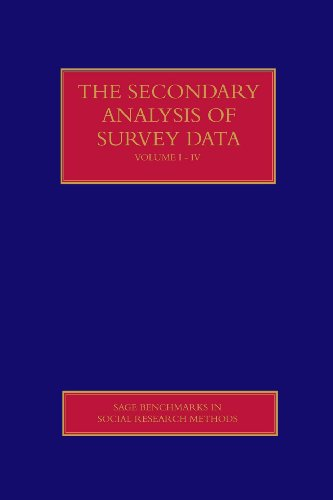 9781412903844: The Secondary Analysis of Survey Data (SAGE Benchmarks in Social Research Methods)