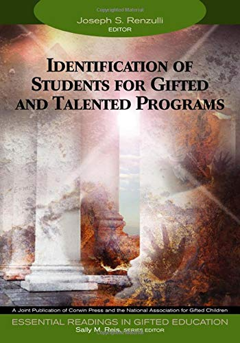 9781412904285: Identification of Students for Gifted and Talented Programs (Essential Readings in Gifted Education Series)