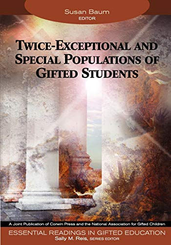 9781412904322: Twice-Exceptional and Special Populations of Gifted Students (Essential Readings in Gifted Education Series)