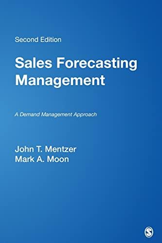 9781412905718: Sales Forecasting Management: A Demand Management Approach