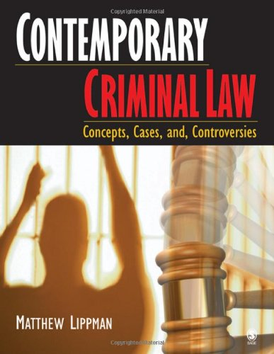 Contemporary Criminal Law: Matthew Lippman
