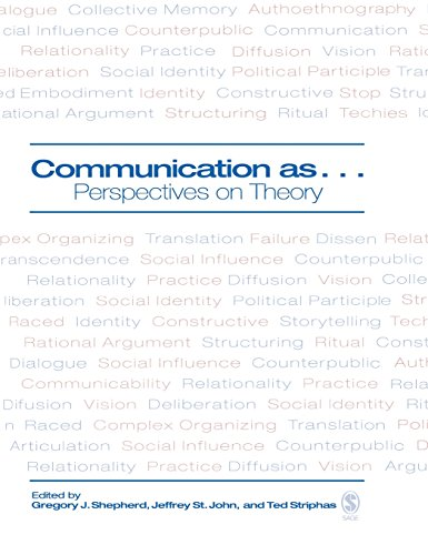9781412906579: Communication as ...: Perspectives on Theory