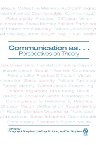 9781412906586: Communication as ...: Perspectives on Theory